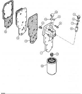 2040-US84 Uszczelka chłodnicy oleju