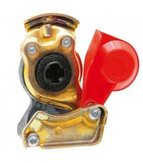 2014-HA116 Złączka pneumatyczna czerwona M22x1,5