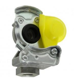 2014-HA120 Złączka pneumatyczna żółta M16x1,5