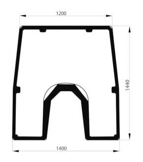 1020-KA6 Szyba przednia przezroczysta z nadrukiem John Deere, L155222 , L157582 , L166875 , L173349,