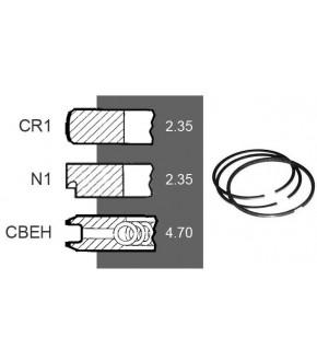 7030-ZN145 Pierścienie 111,76mm 2.35x2.35.4.70mm