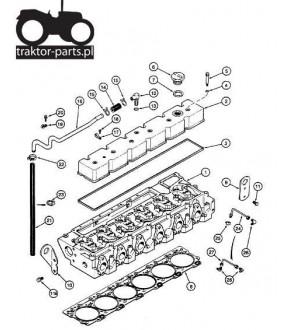 2040-US14 Zestaw uszczelek górnych silnika 6C Cummins