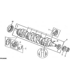 1050-WA52 Odrzutnik wału