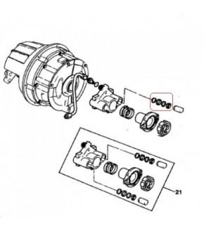 3011-SP48 Zestaw uszczelnień tłoczka wysprzęglika