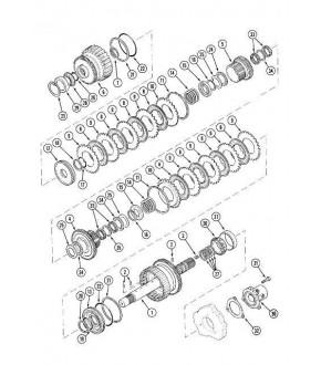 2013-SK4  Pierścień uszczelniający Case 5140,5130,5150,MX120,MX135,MX150,A159297