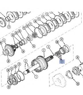 2013-SK5 Uszczelniacz wałka rewersu Case ,1995100C1