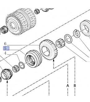 2013-SK28 Synchronizator Case Maxxum/MXU New Holland T/TSA  47126058