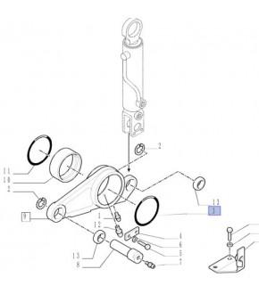 2014-HA94 Oring tłoka hamulowego 189mm Case,14482980, 238-5367, 2385367,