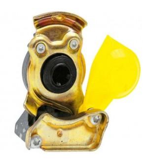 2014-HA114 Złączka pneumatyczna żółta M22x1,5