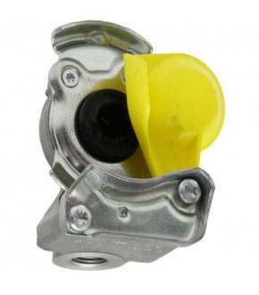 2014-HA117 Złączka pneumatyczna żółta M16x1,5