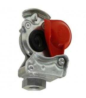 2014-HA119  Złączka pneumatyczna czerwona M16x1,5