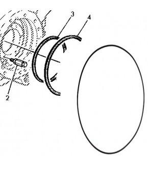 1014-HA29 Oring cylindra hamulcowego John Deere,L116345, L39942, L56246