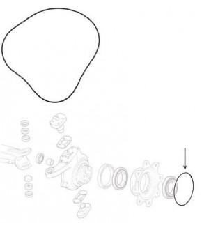 2016-ON187 O-ring piasty koła, 1537640C1 ,100552A1, 83983358, CAR28603, 6000128603,