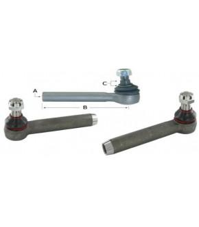 1017-UK13 Końcówka kierownicza 230mm P/L John Deere ,AL160203, AL160542 ,AL209601 ,AL175788,