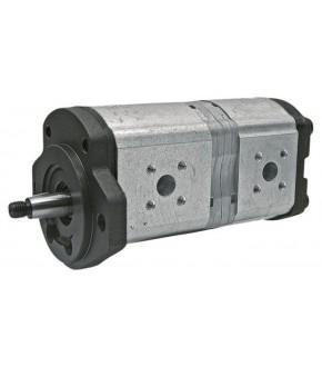 1018-HY2 Pompa hydrauliczna 22,5+11cm John Deere, 7700036171, 7700036351, RT7700036171, RT7700036351, 0510765347,