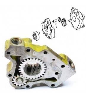 1018-HY6 Mikropompa hydrauliczna skrzyni John Deere ,AR96662 ,R57959, AR39053, AR39107, AR39164, R57964,