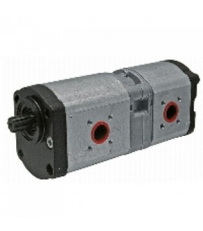 4018-HY5 Pompa hydrauliczna Deutz-Fahr 22,5/20+14cm3,0510765336,0510765315,0510776537,0510765332,0510765336,