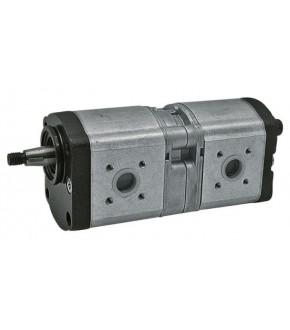 4018-HY6 Pompa hydrauliczna 19+11cm3 Deutz Fahr,0510665368, 0510665343