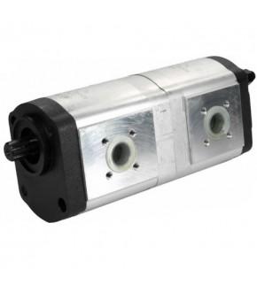 4018-HY9 Pompa hydrauliczna 22,5x16/22,5+14cm3 Deutz-Fahr,01175999, 01179086, 0510765337, 0510765336,