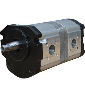 9018-HY2 Pompa hydrauliczna 14+8cm3 Renault,7700568530,7700706110,0510565323