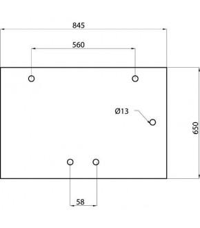 2020-KA7 Szyba tylna XL Case,182027A2,3233046R3,182027A1, 3233046R4