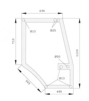 2020-KA13 Szyba drzwi Case 5000 Maxxum P,1330930C1, 1330930C2