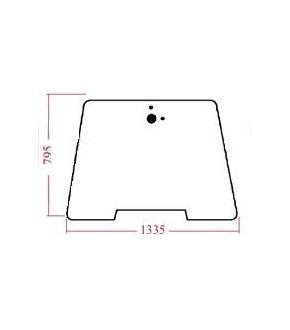 2020-KA85 Szyba przednia Case,238682A3, 238682A4,