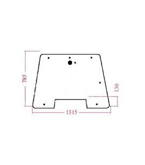 2020-KA87 Szyba przednia Case,238520A2, 238520A3,