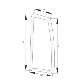 4020-KA5 Szyba boczna lewa z nadrukiem Deutz-Fahr,04424512