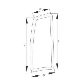 4020-KA7 Szyba boczna prawa z nadrukiem Deutz-Fahr,04424511,