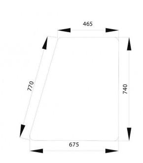 5050-KA6 Szyba drzwi dolna Fendt Favorit 600,275500210340