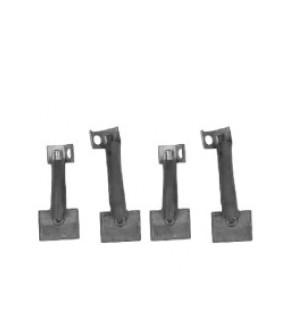 1021-EL6 Szczotki rozrusznika 10x25x17mm John Deere, Renault,