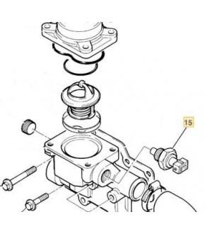K10-48 Czujnik temperatury wody JCB 3CX , 4CX ,716/24200,71624200,