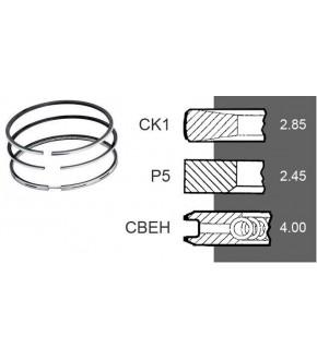 2030-ZN40 Pierścienie 3szt. 108mm 3,0x2,50x4,0mm