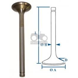 3030-ZN132 Zawór wydechowy Massey Ferguson Cylindry, Tłoki,Zestawy Naprawcze Silnika