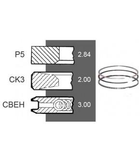 4030-ZN156 Pierścienie 94mm 2,8x2x3mm
