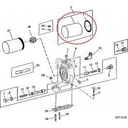 1020-FO1 Filtr oleju silnika,AR101278, AR93529, RE46380, RE57394, VPD5035 P558329, P779201 LF3317, LF3567, W1254X ,51824 Joh...
