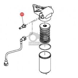2070-UP48 Złączka przewodów paliwowych Massey Ferguson Układ paliwa