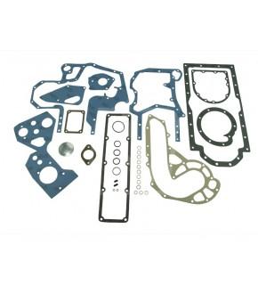 2040-US19 komplet uszczelek dół silnika Case,1967011C1, 3136813R99, 3228431R92,3228431R91