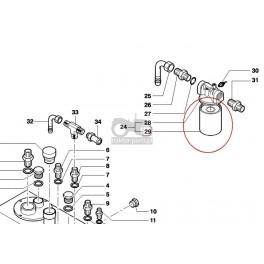 7020-FH80 Filtr hydrauliki Filtry