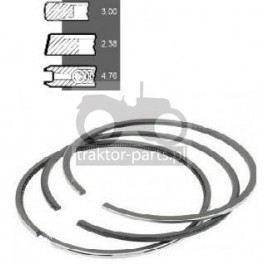 2030-ZN34 Pierścienie 100mm x3,00x2,38x4,76mm